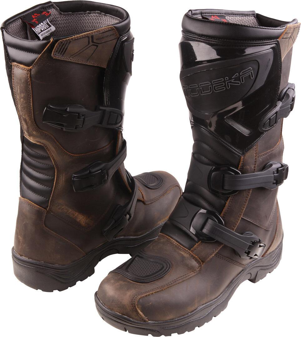 Modeka Ikarus Motocross Boots female Black White Size: 39
