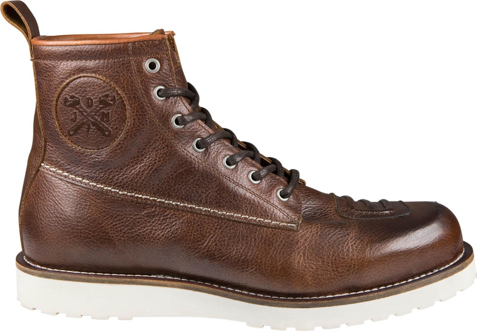 John Doe Iron XTM Motorcycle Shoes  - Brown - Size: 43