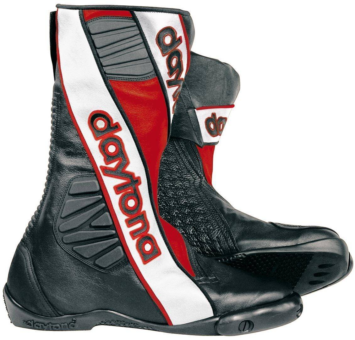 Daytona Security Evo G3 Motorcycle Boots  - Black Red - Size: 41