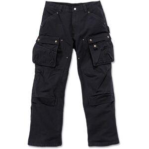 Carhartt Duck Multi Pocket Tech Pants  - Black - Size: 38