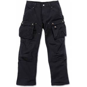 Carhartt Duck Multi Pocket Tech Pants  - Black - Size: 31