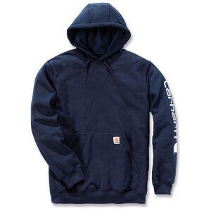 Carhartt Midweight Sleeve Logo Hoodie  - Blue - Size: XL