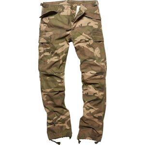 Vintage Industries M65 Heavy Satin Pants  - Multicolored - Size: M