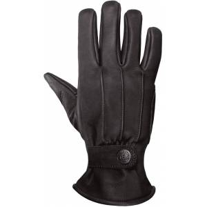 John Doe Grinder XTM Leather Gloves unisex Black Yellow Size: S