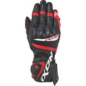 Ixon Rs Tempo Air Motorcycle Gloves  - Black Red - Size: 2XL