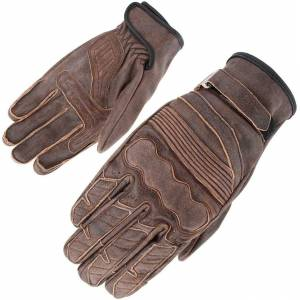 Orina Highway Motorcycle Gloves  - Brown - Size: S M