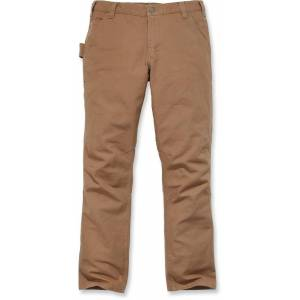 Carhartt Straight Fit Stretch Duck Pants  - Brown - Size: 30