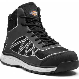 Dickies Workwear Phoenix Safety Boots  - Grey White - Size: 44
