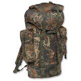 Brandit Nylon Backpack  - Green - Size: One Size
