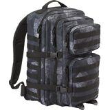 Brandit US Cooper L Backpack  - Black Grey - Size: One Size