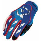Acerbis MX-X1 2016 Motocross Gloves  - Red Blue - Size: M