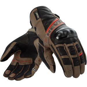 Revit Dominator Gore-Tex Gloves Red Beige 3XL
