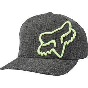 FOX Clouded Flexfit Cap Black Green L XL