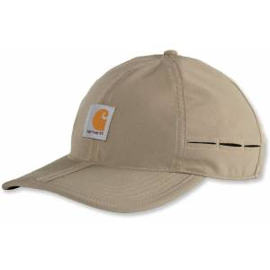 Carhartt Force Extremes Fishing Packable Cap Beige One Size