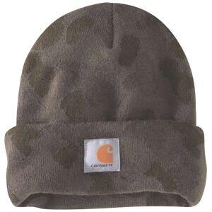 Carhartt Camo Watch Beanie  - Green Brown - Size: One Size