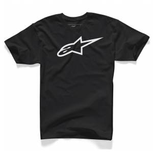 Alpinestars Ageless Classic T-Shirt  - Black White - Size: M