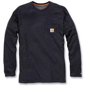 Carhartt Force Cotton Long Sleeve Shirt  Grey Size:
