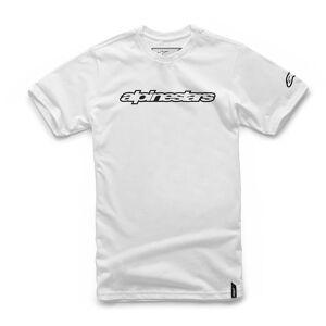 Alpinestars Wordmark T-Shirt  - White - Size: M