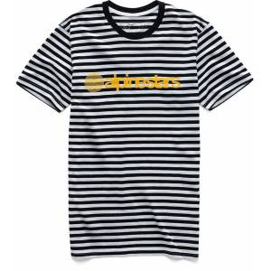 Alpinestars Studio T-Shirt unisex White Blue Yellow Size: M