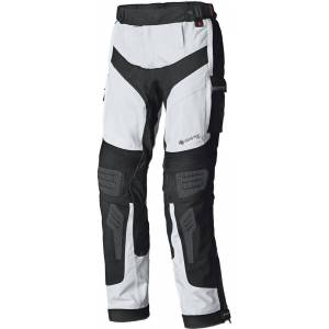 Held Atacama Base Gore-Tex Motorcycle Textile Pants  - Grey Red - Size: L