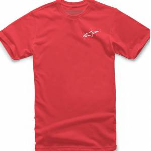 Alpinestars Neu Ageless Tee T-Shirt  - White Red - Size: M