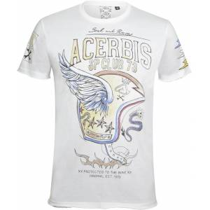 Acerbis Wings SP Club T-Shirt  - White - Size: M
