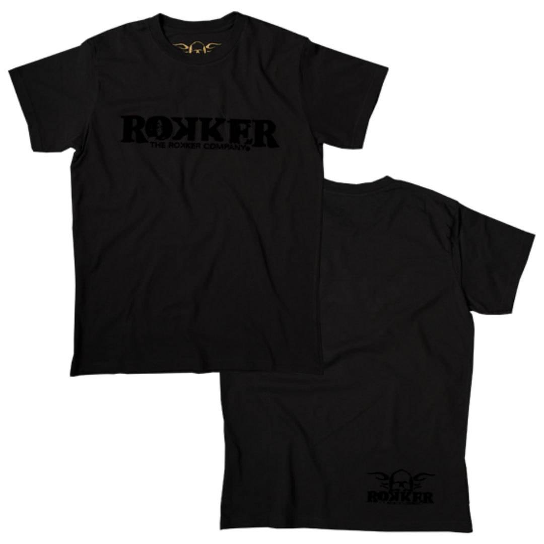 Rokker Black Jack T-Shirt Black 2XL