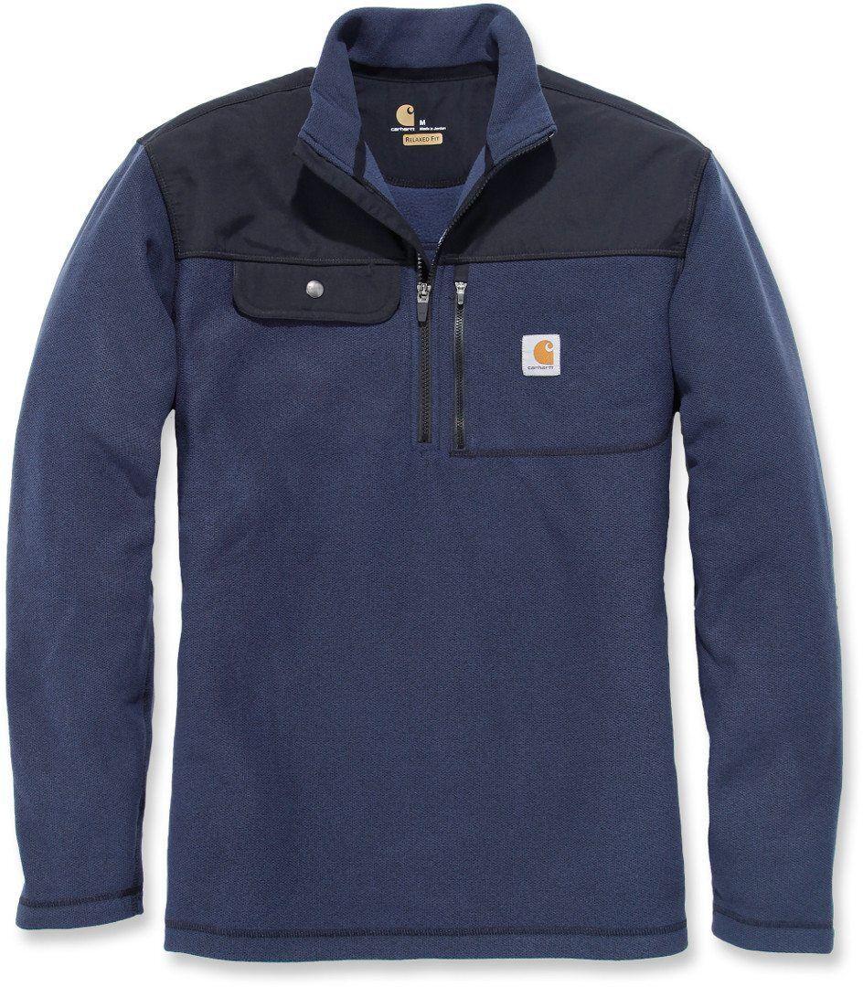 Carhartt Fallon Half-Zip Sweatshirt Blue S