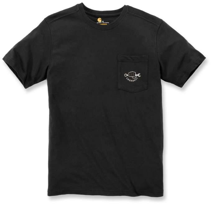 Carhartt Maddock Strong Graphic Pocket T-Shirt Black M