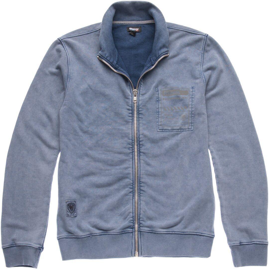 Blauer USA High Visibility Sweatshirt Jacket Blue M