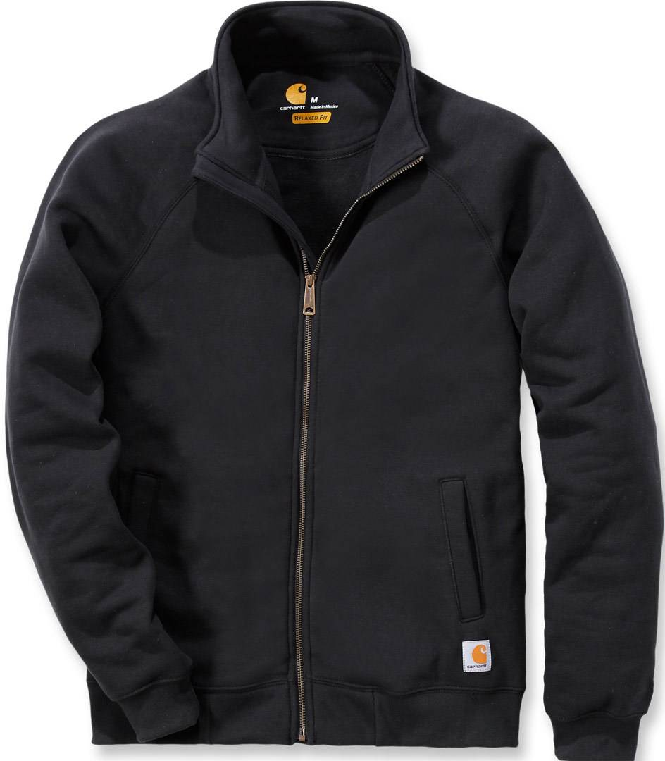Carhartt Midweight Mock Neck Zip Sweatshirt  - Black - Size: 2XL