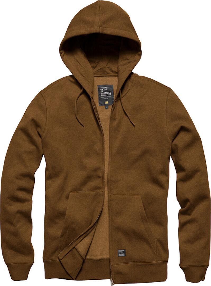 Vintage Industries Redstone Hooded Sweatshirt  - Brown - Size: 2XL