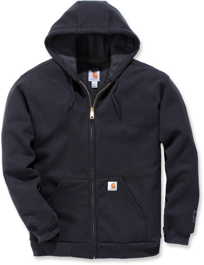 Carhartt Rutland Thermal Lined Zip Sweatshirt  - Black - Size: M