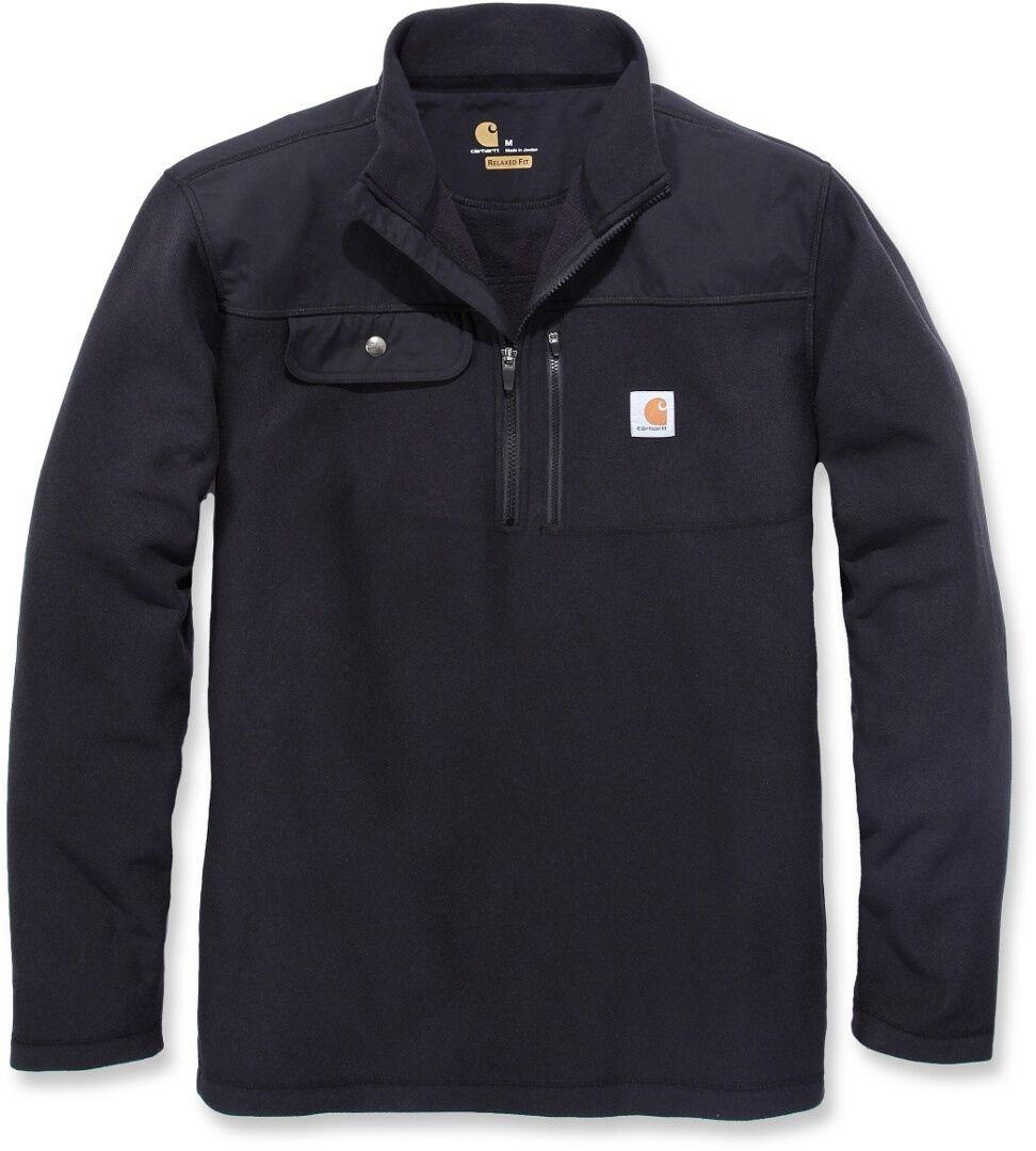 Carhartt Fallon Half-Zip Sweatshirt  - Black - Size: XL