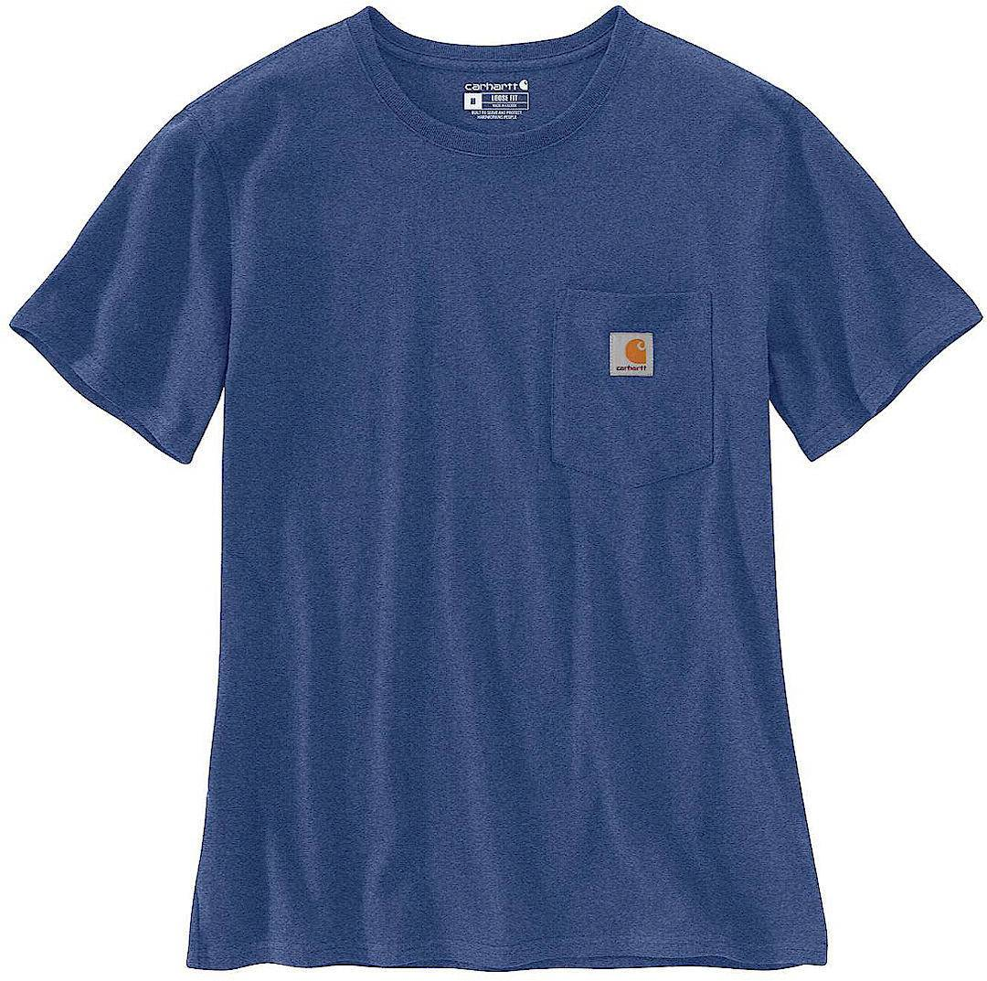 Carhartt Workwear Pocket Women's T-Shirt  Blue Size: