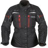 Modeka Winslow Ladies Motorcycle Textile Jacket  - Black - Size: 44