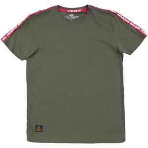 Alpha Industries RBF Tape T-Shirt Green S