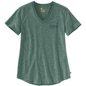 Carhartt Lockhart Graphic Ladies T-Shirt Green S