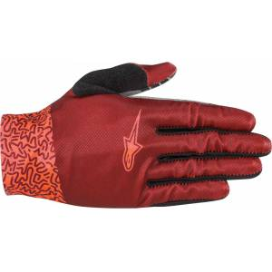 Alpinestars Stella Aspen Pro Lite Ladies Bicycle Gloves  - Red - Size: L