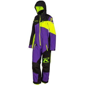 Klim Ripsa Ladies One Piece Snow Suit  - Black Purple - Size: L