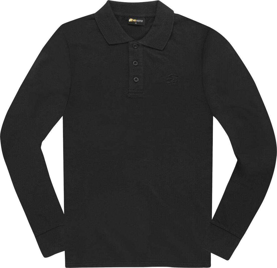 FC-Moto Long Run Polo Longsleeve Shirt unisex Carbon Size: L