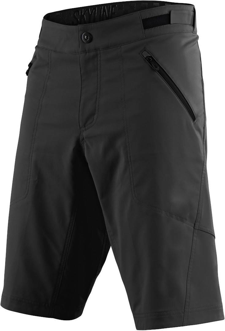 Lee Troy Lee Designs Skyline Youth Bicycle Shorts unisex Black Grey Size: 30