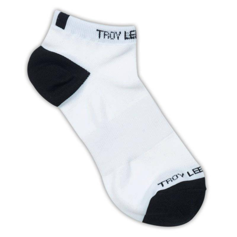Lee Troy Lee Designs Ace Performance Ankle Socks 2 Pack  White Size: