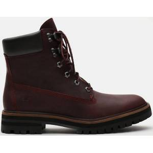 Timberland London Square 6 Inch Ladies Boots  - Red Purple - Size: 41