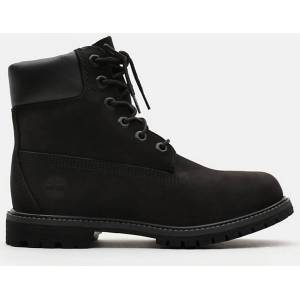 Timberland 6 Inch Premium Ladies Boots  - Black - Size: 39