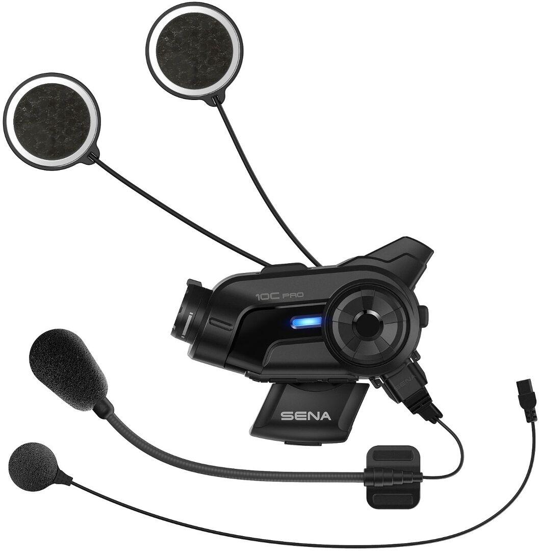 Sena 10C Pro Bluetooth Communication System and Action Camera  Black Size: