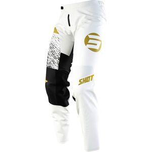 Shot Devo Roll Motocross Pants  Black White Size: