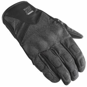 Bogotto Bolt Motorcycle Gloves  Black Grey Size:
