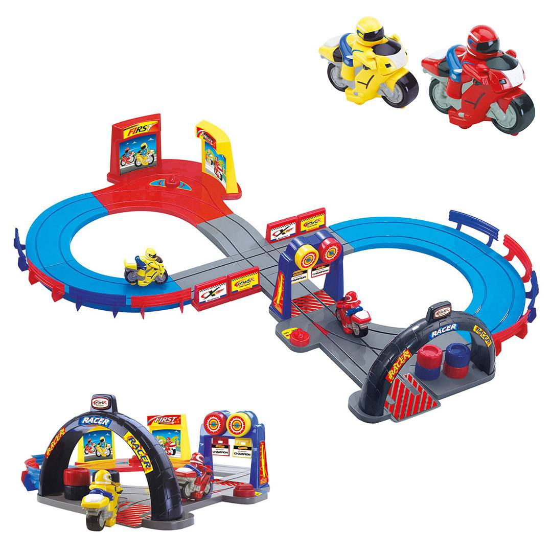Booster Motorcycle Racetrack   Size: