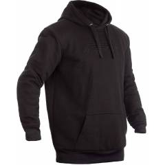 RST X Pullover Motorcycle Hoodie  Black Size: